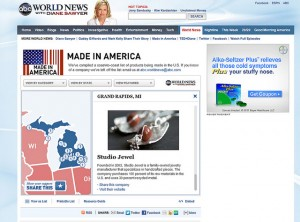 Diane Sawyer's Made in America Gift guide