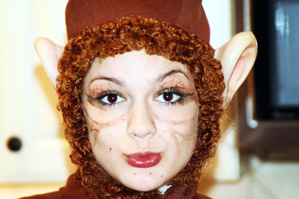 Halloween. Dressing up. DIY costume and make up ideas ... - photo#14