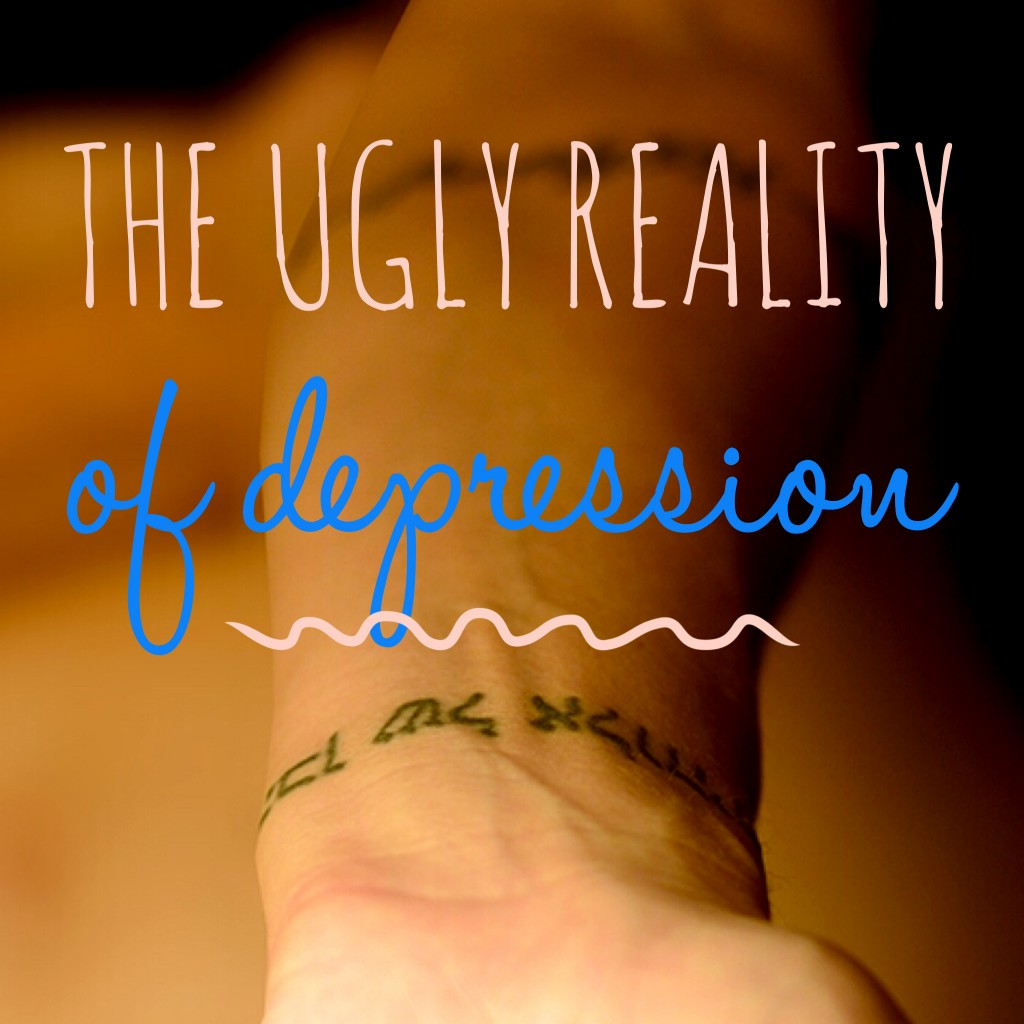 the ugly reality of depression