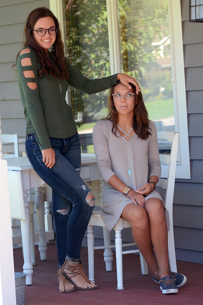 sister style fall transition fashion