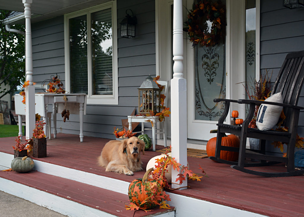 fall decorating ideas - my fall porch