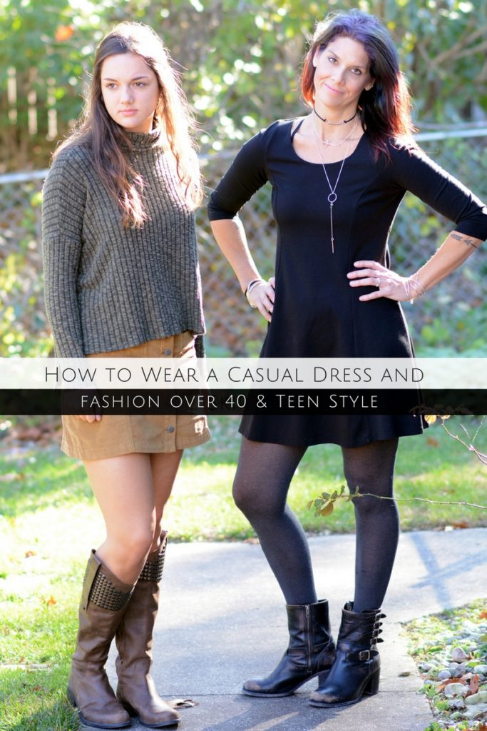 how-to-wear-a-casual-dress-and-skirt