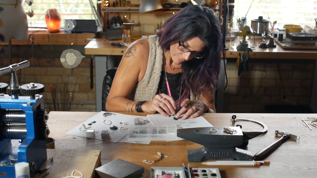 my art. Lisa Lehmann the artist goldsmith behind the scenes of Studio Jewel